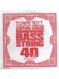 Ernie Ball: 1640 .040 Nickel Wound Bass String  | Bass Guitar