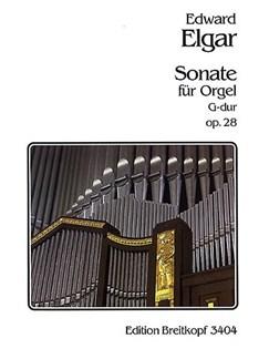 Edward Elgar: Sonata Op. 28 For Organ Books | Organ