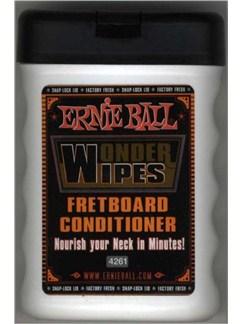 Ernie Ball: Wonder Wipes - Fretboard Conditioner  | Guitar