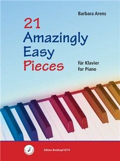 Barbara Arens: 21 Amazingly Easy Pieces For Piano Books | Piano