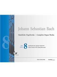 J.S. Bach: Complete New Organ Works - Vol. 8 (Book/CD-ROM) Books and CD-Roms / DVD-Roms | Organ