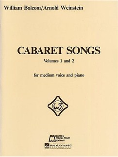 William Bolcom: Cabaret Songs Volumes 1 And 2 Books | Medium Voice, Piano