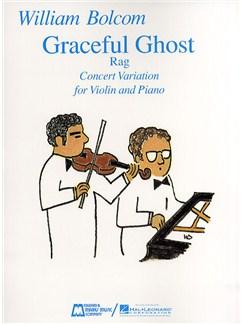 William Bolcom: Graceful Ghost Rag Books | Violin, Piano