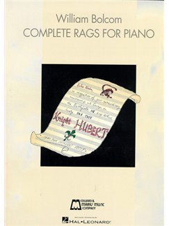 William Bolcom: Complete Rags For Piano Livre | Piano