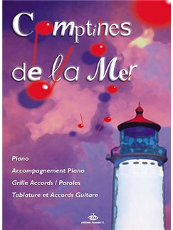 Recueil Comptines De La Mer Books | Voice, Piano Accompaniment, All Instruments