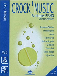 Recueil CrocK'MusiC Volume 3 Books   Piano