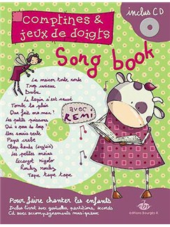 Comptines et jeux de doigts : Le Songbook de Rémi Books   Piano, Vocal & Guitar