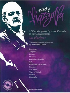 Easy Piazzolla: Clarinet (Book/CD) Books and CDs | Clarinet