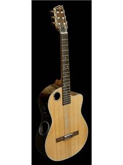 Boulder Creek: ECL-4 Electro Acoustic Classical Guitar (Natural) Instruments | Electro-Classical Guitar