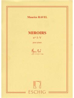 Maurice Ravel: Miroirs Books | Piano