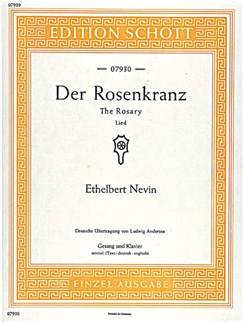 Ethelbert Névin: The Rosary Books | Medium Voice, Piano Accompaniment