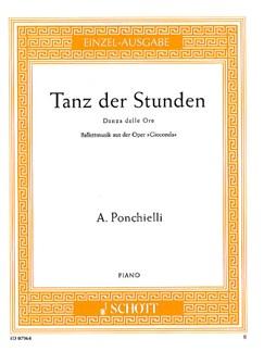 Amilcare Ponchielli: Tanz Der Stunden (Gioconda) Books | Piano
