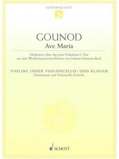 Charles Gounod: Ave Maria (Violin/Cello) Books | Violin, Piano Accompaniment, Cello
