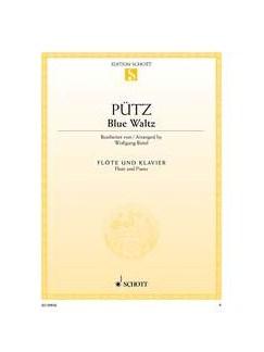Eduard Puetz: Blue Waltz (Flute/Piano) Books   Flute, Piano Accompaniment