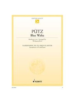 Eduard Pütz: Blue Waltz Books | Alto Saxophone, Piano Accompaniment