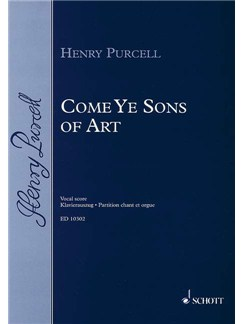 Henry Purcell: Come Ye Sons Of Art - Vocal Score Books | SATB