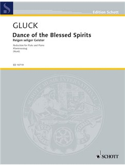 Christoph Willibald Gluck: Dance Of The Blessed Spirits (Orfeo Ed Euridice) Books | Flute, Piano Accompaniment