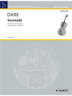 Marie Dare: Serenade For Cello And Piano Books | Cello, Piano Accompaniment
