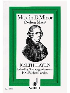 Joseph Haydn: Missa In Angustiis (SOLI/GCH/ORCH) Books | Orchestra, SATB