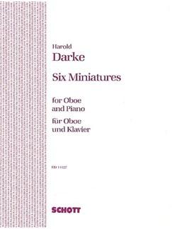 Harold Darke: Six Miniatures For Oboe And Piano Books | Oboe, Piano Accompaniment