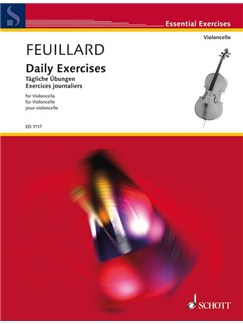 Louis Feuillard: Daily Exercises For Cello Books | Cello