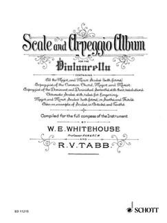 Scale And Arpeggio Album For The Violoncello Books | Cello