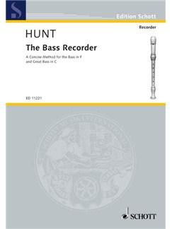 Hunt: The Bass Recorder Books | Bass Recorder, Great Bass Recorder