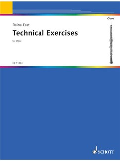 Raina East: Technical Exercises For The Oboe Books | Oboe
