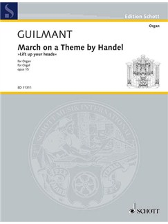 Alexandre Guilmant: March On A Theme By Handel Books | Organ