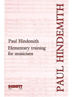 Paul Hindemith: Elementary Training For Musicians Books |