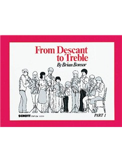 Brian Bonsor: From Descant To Treble - Part 1 Books | Alto (Treble) Recorder