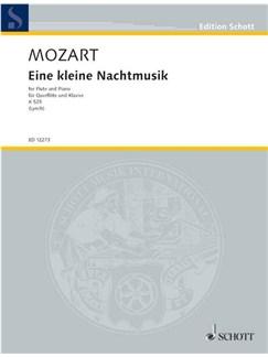W.A. Mozart: Eine Kleine Nachtmusik K.525 (Flute) Books | Flute, Piano Accompaniment