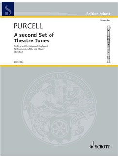 Purcell; A Second Set of Theatre Tunes for Descant Recorder and Keyboard Books | Keyboard, Soprano (Descant) Recorder
