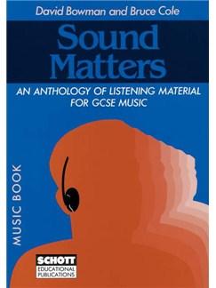 David Bowman/Bruce Cole: Sound Matters (Music Book) Books | Score