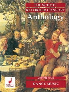 The Schott Recorder Consort Anthology; Dance Music (Volume 4) Books   Recorder Ensemble