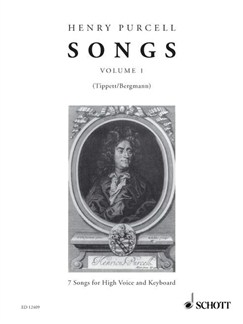 Purcell: Songs for High Voice & Keyboard (Volume 1) Books | High Voice, Soprano, Tenor