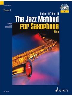 John O'Neill: The Jazz Method For Alto Saxophone Books and CDs | Alto Saxophone