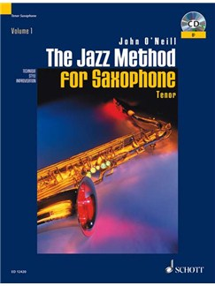 The Jazz Method For Tenor Saxophone Books | Tenor Saxophone