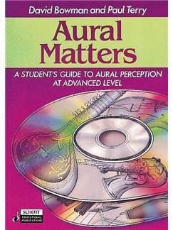 David Bowman/Paul Terry: Aural Matters Books and CDs |