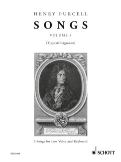 Purcell; Songs for Low Voice & Keyboard (Volume 4) Books | Alto, Low Voice, Baritone