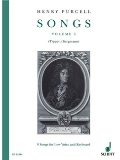 Purcell; Songs for Low Voice & Keyboard (Volume 5) Books | Alto, Low Voice, Baritone