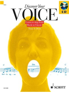 Discover Your Voice (Book/CD) Books and CDs | Voice (with Chord Symbols)