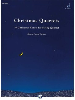 Christmas Quartets For String Quartet Books | String Quartet