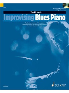 Tim Richards: Improvising Blues Piano Books and CDs | Piano