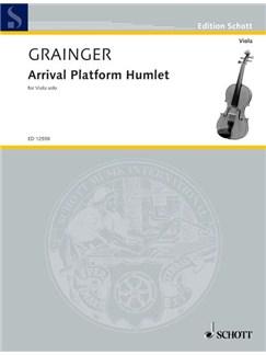 Percy Grainger: Arrival Platform Humlet Books | Viola