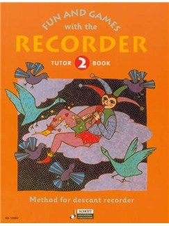 Fun And Games With The Recorder: Descant Tutor Book 2 Books | Descant Recorder