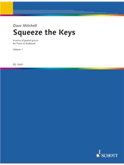 Dave Mitchell: Squeeze The Keys Books | Piano, Keyboard