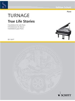 Mark-Anthony Turnage: True Life Stories Books | Piano