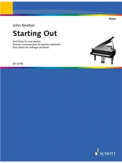Starting Out First Pieces For New Pianists Books | Piano