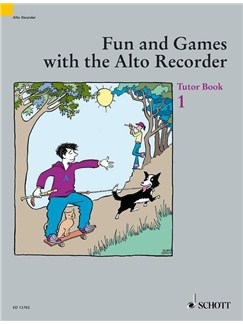 Fun And Games With The Alto Recorder - Tutor Book 1 Books | Alto (Treble) Recorder